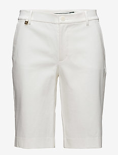 Bi-Stretch Twill Short - WHITE