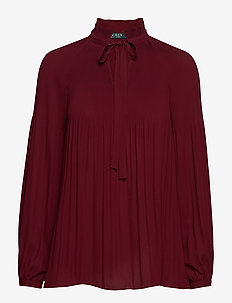 DRAPEY POLY GGT-LS TOP - BORDEAUX