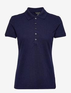 Piqué Polo Shirt - poloskjorter - french navy