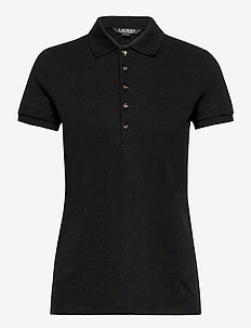 Piqué Polo Shirt - poloskjorter - polo black