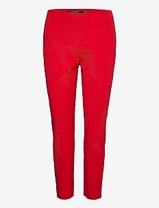 Twill Skinny Pant - broeken med straight ben - orient red