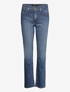 Premier Straight Jean - straight jeans - ocean blue wash d