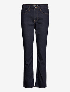 Premier Straight Jean - flared jeans - dark rinse wash d