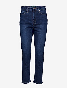 Regal Straight Ankle Jean - CADET BLUE WASH