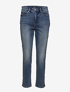 Regal Straight Ankle Jean - LIGHT AUTHENTIC W