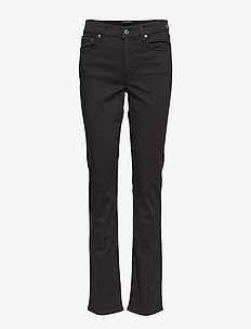 Premier Straight Sateen Pant - POLO BLACK
