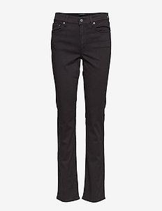Premier Straight Sateen Pant - POLO BLACK