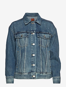 Denim Jacket - VARSITY BLUE WASH
