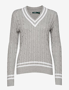 Cotton Cricket Sweater - PEARL GREY HEATHE