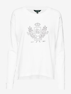 Logo French Terry Sweatshirt - WHITE