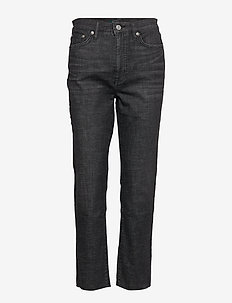 Regal Straight Ankle Jean - proste dżinsy - faded noir wash