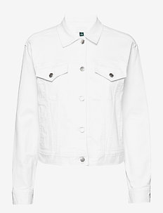 Denim Jacket - CRISP WHITE WASH