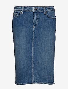 Denim Skirt - INDIGO GARDENS WA