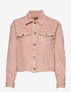 Cropped Denim Jacket - PRIMROSE WASH