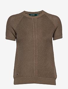 Cotton-Blend Sweater - SAGE MOSS