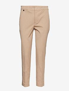 Cotton Twill Skinny Pant - rette bukser - birch tan