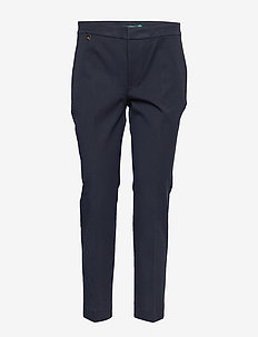 Cotton Twill Skinny Pant - LAUREN NAVY