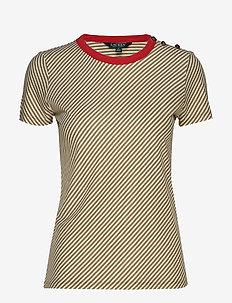 Slub-Knit Jersey Tee - LIGHT AGAVE/MASCA
