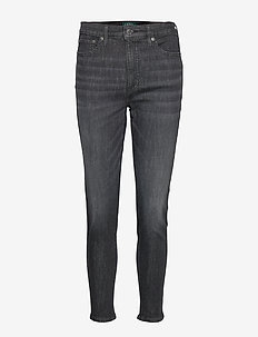 ULTIMATE STR BLK YD-SKINNY ANKLE - dżinsy skinny fit - imperial black wa