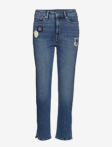 Regal Straight Ankle Jean - EMPIRE BLUE WASH