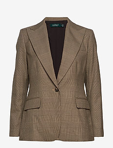 REFINED SUITING-JACKET - BROWN/TAN MULTI