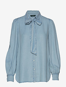 SFT LT WT INDG TNCL-SHIRT - PALE BLUE WASH