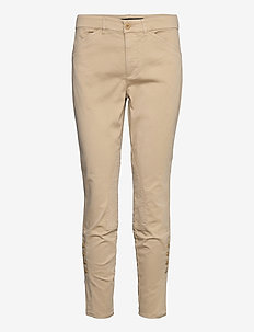 Stretch Chino Jodhpur Pant - smale busker - birch tan