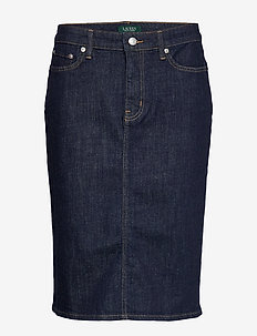 Denim Skirt - jeanskjolar - rinse wash