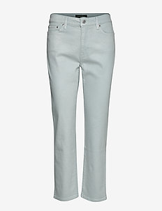 Premier Straight Ankle Jean - PEARL SKY WASH