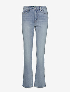 AUTH STR INDG DNM-STRAIGHT JEAN - jeans droites - light worn wash