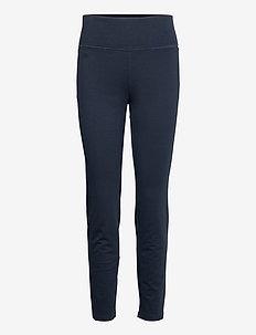 Stretch Cotton Skinny Pant - skinny leg hosen - lauren navy