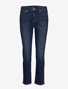 ULTIMATE STR INDIGO-JEAN - TRUE INDIGO WASH