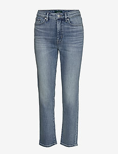 Premier Straight Ankle Jean - LIGHT INDIGO WASH