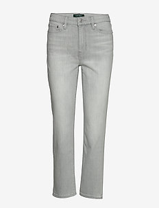 Premier Straight Ankle Jean - straight jeans - soft grey wash