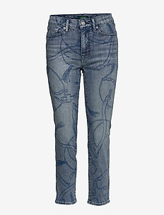 Premier Straight Ankle Jean - WORN INDIGO WASH
