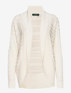 Cable-Knit Cardigan - MASCARPONE CREAM