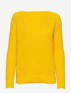 Cotton Boatneck Sweater - jumpers - dandelion fields