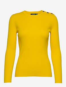 Ribbed Cotton-Blend Sweater - gensere - dandelion fields