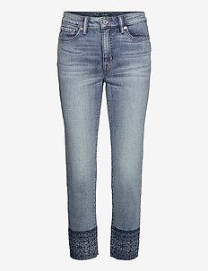 Premier Straight Ankle Jean - jeans droites - highland indigo w