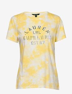 UPTOWN CTN MDL JRSY-SSL-KNT - logo t-shirts - hampton yellow mu