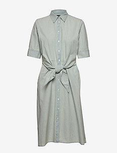 Chambray Shirtdress - VINTAGE CHAMBRAY