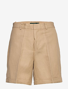 Linen-Twill Short - chino shorts - birch tan