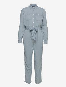 Denim Jumpsuit - klær - indigo mist wash