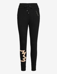 French Terry Jogger Pant - dressipüksid - polo black