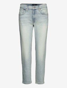 Relaxed Tapered Jean - tapered jeans - sun bleached wash