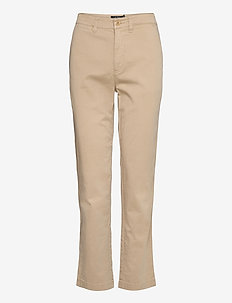 Slim Fit Stretch Chino Pant - chinos - birch tan