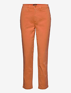 Slim Fit Stretch Chino Pant - chinos - shell coral