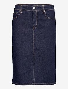 Denim Skirt - jeansowe spódnice - rinse wash