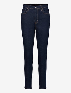 High-Rise Skinny Ankle Jean - skinny jeans - rinse wash