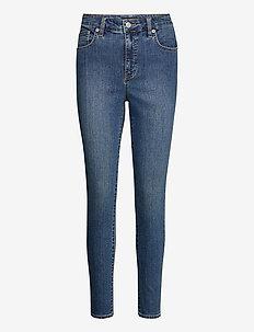 High-Rise Skinny Ankle Jean - skinny jeans - ocean blue wash